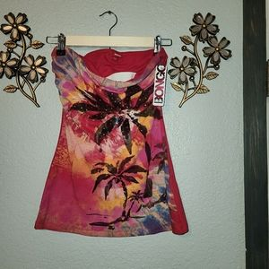 NEW!! Bongo Floral Tube Top size: sm